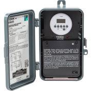 NSI TORK® DTU40 7 Day Digital Time Switch, 40A, 120-277V, DPDT, In/Out Polycarbonate Enclosure