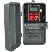 NSI TORK® DZS400BP Astronomic Digital Timer w/Season Holiday Memory Mod 4 Channel 20A 120-277V