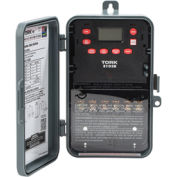 NSI TORK® E103B 24 Hour Digital 1 Channel, 40A, 120-277V, DPST, Indoor/Outdoor Plastic Enclosure