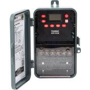 NSI TORK® EW103B 7 Day Digital Timer One Channel 40A 120-277V DPST Indoor/Outdoor Plastic Encl