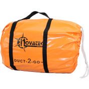 """Novatek Duct-2-Go 10"""" x 25' Heavy Duct Vinyl with integrated carrying case"""