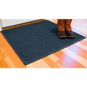 "WaterHog® Entrance Mat Fashion Border 3/8"" Thick 2' x 3' Navy"