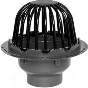 "Oatey 78013 3"" or 4"" PVC Roof Drain with Plastic Dome"