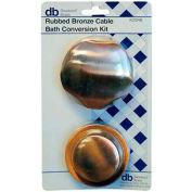 Kit de Conversion K20WH du laiton Dearborn, butée de câble w / garniture de finition blanche, qté par paquet : 2