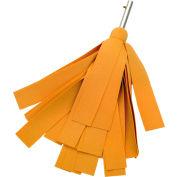 "Swobbit Aquazorber® Drying Mop w/ 2"" Strips, Uni-Snap™ - SW31315"