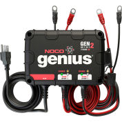 NOCO Genius 8 Amp 2-Bank Waterproof Onboard Battery Charger - GENM2