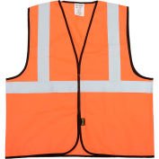 OccuNomix Class 2 Solid Vest Hi-Vis Orange 2XL/3XL, ECO-G-O2/3X