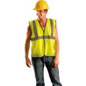 OccuNomix Value Mesh Standard Vest, Class 2, Hi-Vis Yellow, L/XL, ECO-GC-YL/XL