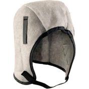 Occunomix Value Regular Length Hood Fleece, Charcoal Gray, RF450 - Pkg Qty 6