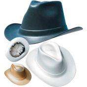 OccuNomix Vulcan Cowboy Hard Hat with Ratchet Suspension Black, VCB200-06