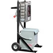 CEP 6210PDC30-2 100 Amp, 3-Ph Cart w/ 30kva Transformer