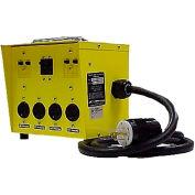 CEP 6503GTL, 30A Twist Lock Mini Power Center, Input- L14-30P, Output: 4- L5-20R Twistlock