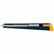 Corps en métal olfa® 5001 Slide mécanisme couteau w / lame Snapper - noir/jaune