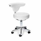 OFM Anatomy Chair, Anti-Mircobial/Anti-Baterial Vinyl, White