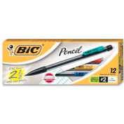Bic® Mechanical Pencil, Non-Refillable, 0.7mm, Clear Barrel, Dozen