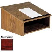 Table Top Podium / Lectern - Mahogany