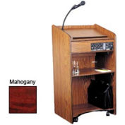 Floor Sound Podium / Lectern - Mahogany