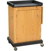 Smart Cart Podium / Lectern - Light Oak