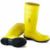 """Boot, 16"""" en acier d'orteil jaune diélectrique II W/Ultragrip, PVC OnGuard masculine, taille 12"""