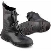 "Boot, 12"" Gator noir, PVC OnGuard masculine, taille moyenne"