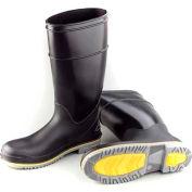 """Dunlop Men's Boot, 16"""" Flex 3 Black Plain Toe, PVC, Size 8"""