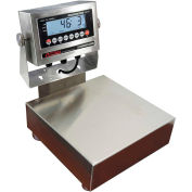 "Optima 915 Series NTEP Stainless Steel Bench Digital Scale w/ LED Display 100lb x 0.02lb 14"" x 12"""