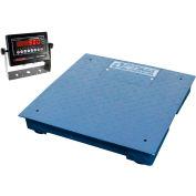 "Optima NTEP Heavy Duty Digital Pallet Scale 24"" x 24"" 5,000lb x 1lb"