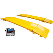 "Optima 144"" Heavy Duty Digital Axle Scale 60,000lb x 10lb"