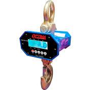 Balance suspendue numérique à DEL robuste Optima 10 000 lb x 5 lb, avec télécommande