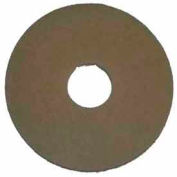 "Bissell Commercial 12"" Stone Care Pad Beige, 5 Pads 437.058"