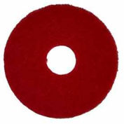"Bissell Commercial 17"" Polish Pad Red, 5 Pads - 82007"
