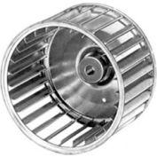 "Fasco Galvanized Steel Blower Wheel - 3 13/16"" Diameter 1/4"" Bore - Pkg Qty 4"