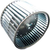 """Double Inlet Direct Drive and Blower Wheel - 1/2"""" Bore 12-5/8"""" Dia 9-1/2"""" W"""