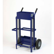 """Pac Strapping Ribbon Wound Strap Truck for 1/2"""" Strap Width, Blue"""