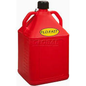 Bidon à essence FLO-FAST™,15 gal., polyéthylène, rouge,15501