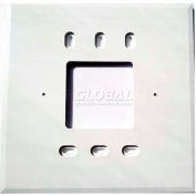 """PECO Wall Plate 73217,  4-11/16"""" X 4-11/16"""" For T170 Series, Package of 10"""