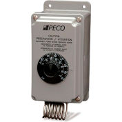 PECO Industrial Multi-Stg. Temperature Controller TH109-009 Temp. Range 40°-100°F Nema 4X