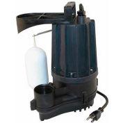 Zoeller M72 Automatic Aqua-mate Submersible Sump Pump 72-0001, 1/2 HP