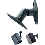 Universal Wall & Ceiling Speaker Mount For Up To 8 Lb Speakers (5-Pack) - Black