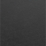 Block Tile PFUS4216 Multi Purpose Flexible PVC Floor Tiles, Flat Textured Pattern, Black