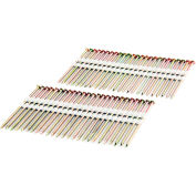 """Freeman Framing Nails FR.131-314GRS, 3-1/4"""" x .131"""", Plastic Collated, Galv. Ring Shank, 2000/Bx"""