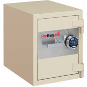 "FireKing® Fire & Burglary Safe FB2218C1, 1-Hour Fire Rating 24-7/16"" x 21-5/8"" x 27-5/16"" Taupe"