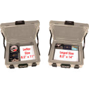 """FireKing® SS104 SureSeal Fire & Waterproof Chest, 19-7/8""""W x 17""""D x 7-5/16""""H, 0.38 Cu. Ft."""