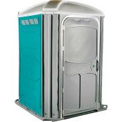 PolyJohn® confort XL™ chaise de roue Accessible toilettes portables Aqua - PH03-1000