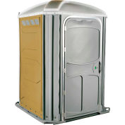 PolyJohn® confort XL™ chaise de roue Accessible toilettes portables Tan - PH03-1006