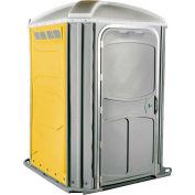 PolyJohn® confort XL™ chaise de roue Accessible toilettes portables jaune - PH03-1009