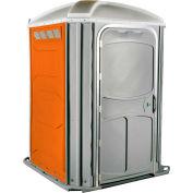 PolyJohn® confort XL™ chaise de roue Accessible toilettes portables Orange - PH03-1011
