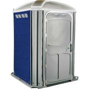 PolyJohn® XL™ fauteuil confort Accessible toilettes portables bleu foncé - PH03-1016
