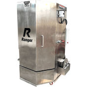 Ranger® Armoire à laver en acier inoxydable/Double-Heaters/Low-Water Shutoff