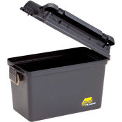 """Plano Molding 1612-98 Field Box Large Without Tray/Gasket 15""""L x 8""""W x 10""""H, Black"""